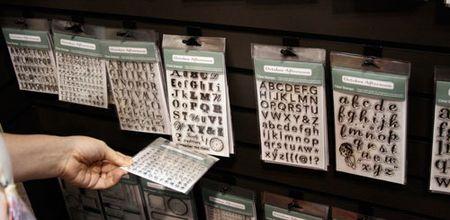 Alphabetstamps