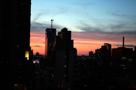 Terrace-sunset