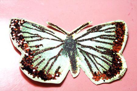 Butterfly-glittered