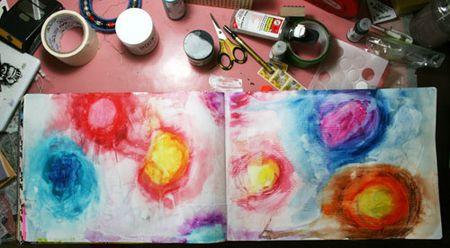 Watercolorcrayons-wet