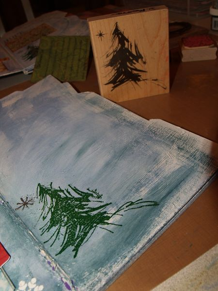 Page 2 embossing tree