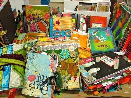Filled Journals