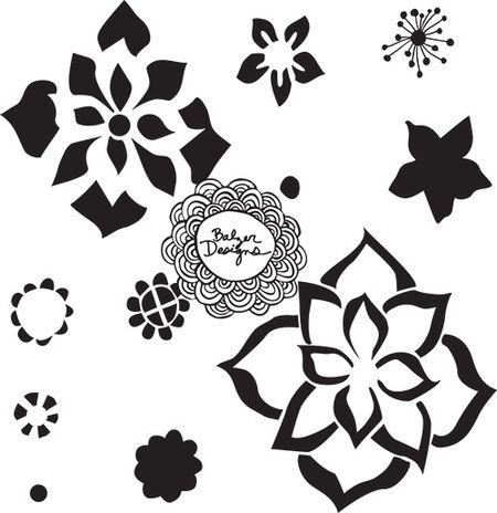 Beads-stencil