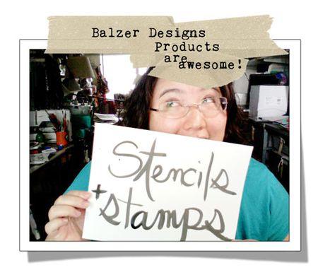 Stencils&Stamps