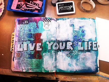 Artjournalliveyourlife