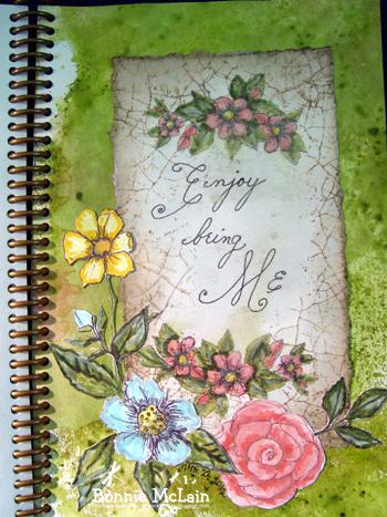 9   enjoy being me by Bonnie McLain