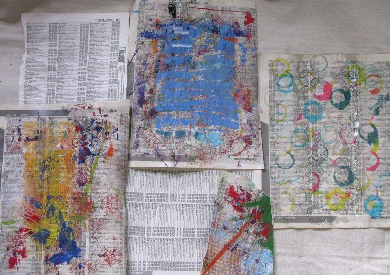Image 6 Collage paper