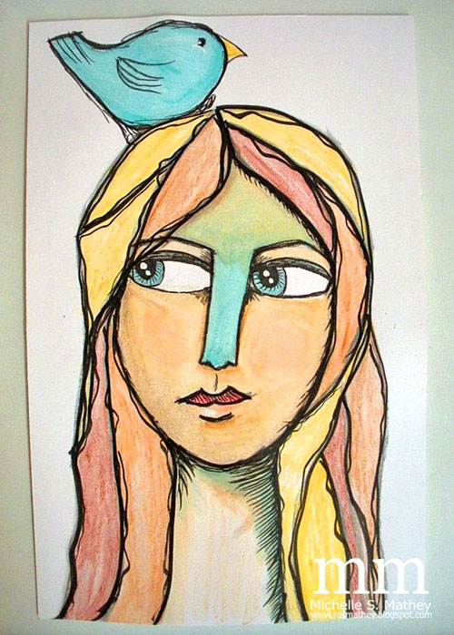 Balzer Designs: Art Journal Every Day: In Pursuit of a Drawing Style