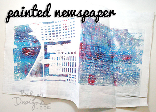 Paintednewspaper
