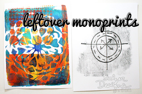 Leftovermonoprints