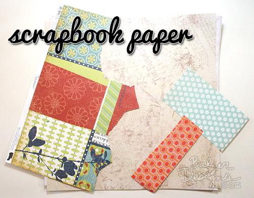 Scrapbookpaper