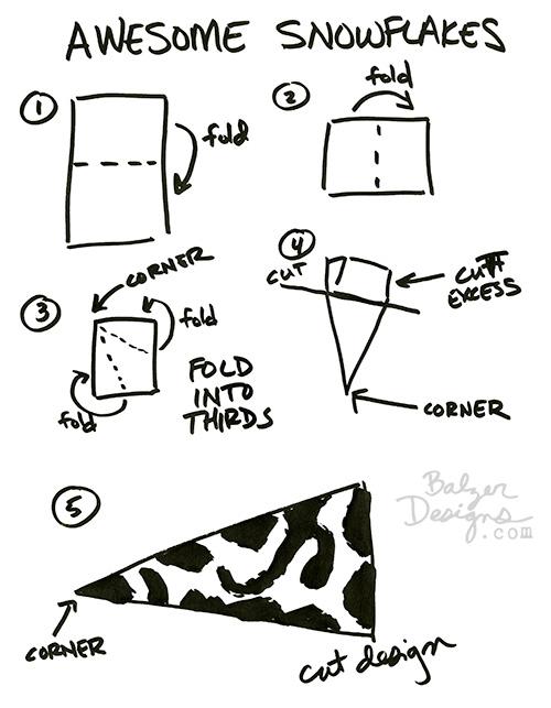 Balzer Designs: Paper Snowflakes