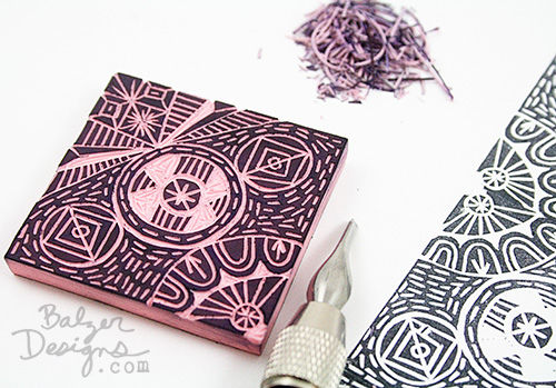 Balzer designs another repeating stamp some advice