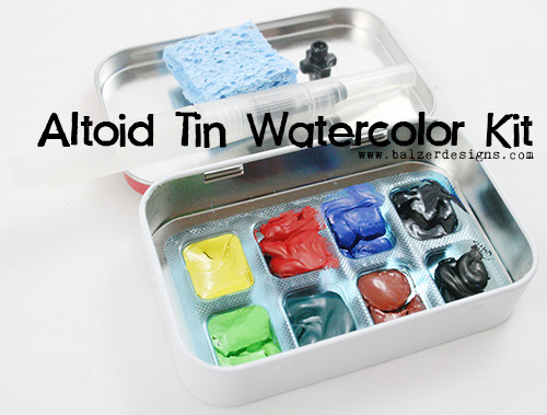 Remove Paint From Altoids Tin