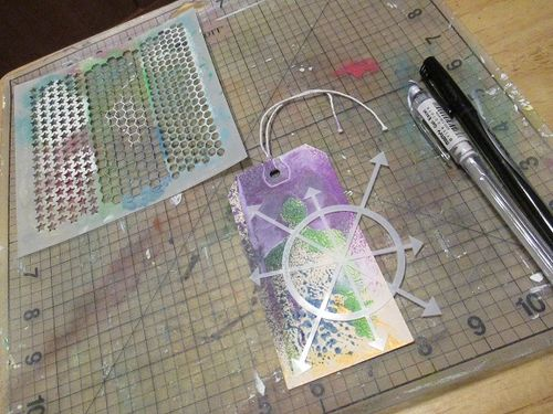 Mini punchinella & arrow wheel1