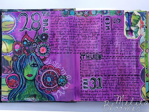 Melita Bloomer - Junque Journal E500
