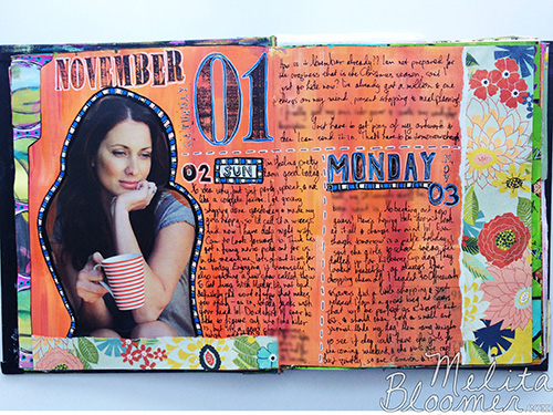 Melita Bloomer - Junque Journal F500