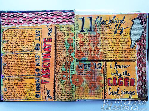 Melita Bloomer - Junque Journal H500
