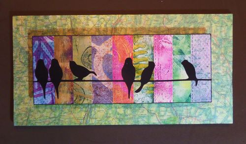 Birds on Wire Quilt