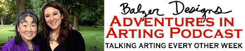 from the Balzer Designs Blog: Adventures in Arting Podcast