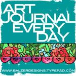 from the Balzer Designs Blog: Art Journal Every Day #artjournal