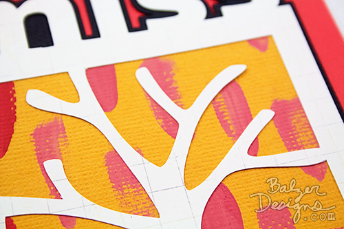from the Balzer Designs Blog: Layered Greeting Card #ScanNCut #video #tutorial