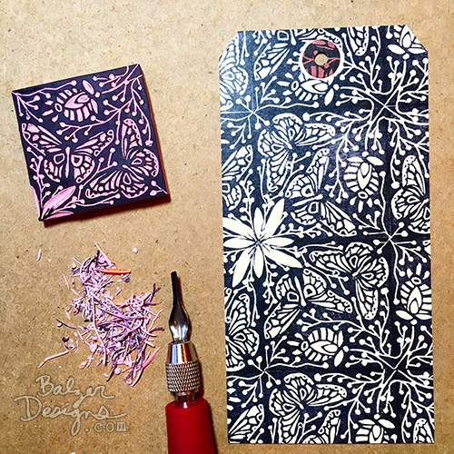 from the Balzer Designs Blog: #CarveDecember 2015: Days 24-31 #stampcarving