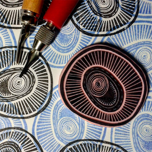 from the Balzer Designs Blog: #CarveDecember 2015 #stampcarving