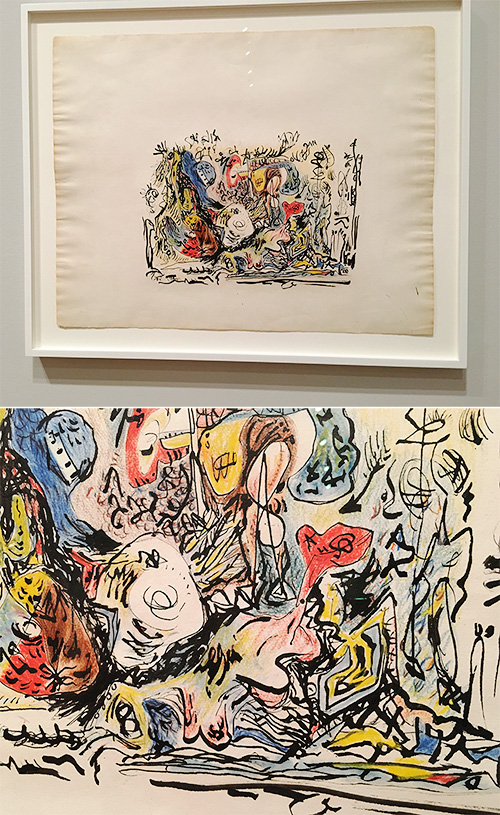 MoMA in December: Part Two (Pollock + more)
