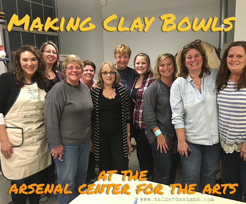 from the Balzer Designs Blog: Clay Bowls
