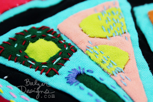 from the Balzer Designs Blog: Mola Update: May 2016 #sewing