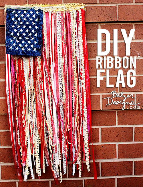 from the Balzer Designs Blog: Non-Traditional Flag Tutorials