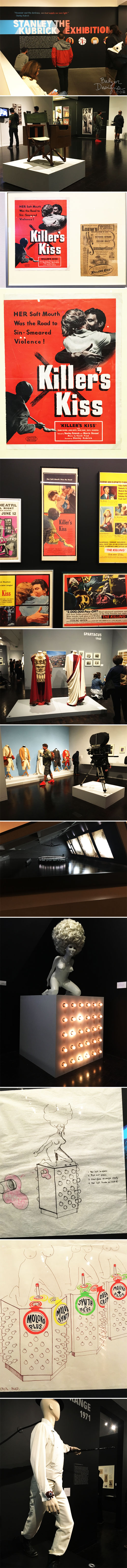 from the Balzer Designs Blog: Stanley Kubrick: The Exhibition