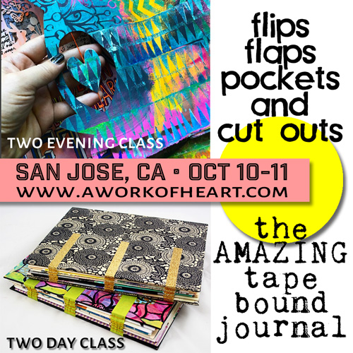 from the Balzer Designs Blog: Two classes in San Jose