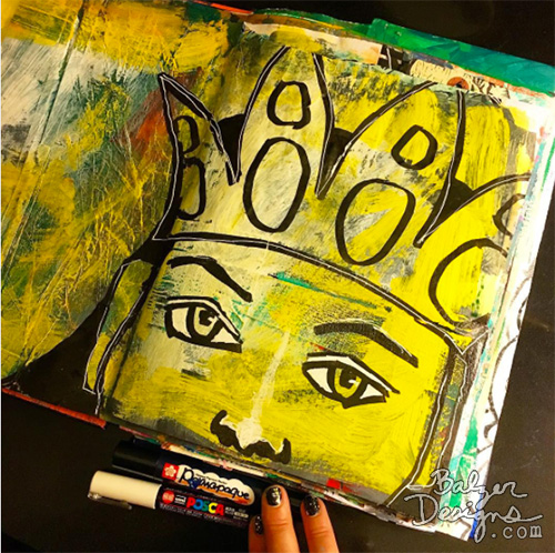 from the Balzer Designs Blog: Art Journal Every Day