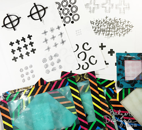 from the Balzer Designs Blog: Playful Fabric Printing Blog Hop & Giveaway