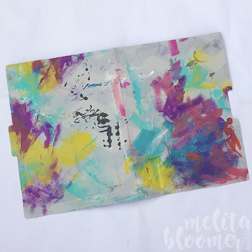 From the Balzer Designs Blog: Blogiversary Tutorial Redo: Two in One with Melita Bloomer