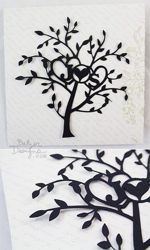 from the Balzer Designs Blog: Valentine's Day Wood Inlay Cards