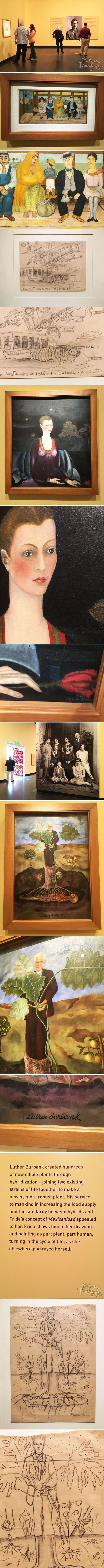 From the Balzer Designs Blog: Frida Kahlo at the Dali Museum