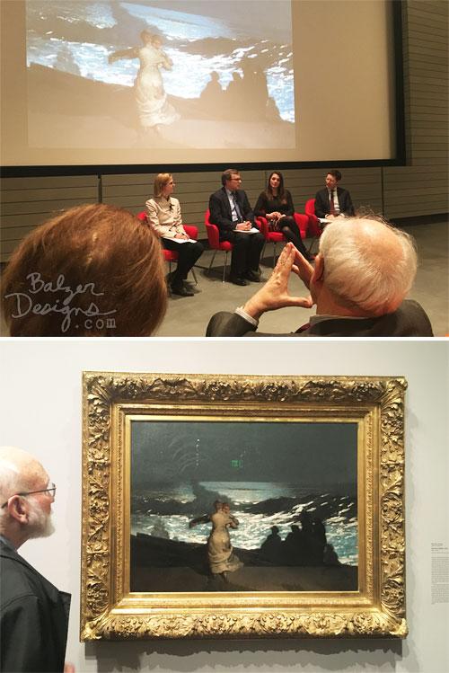 From the Balzer Designs Blog: Winslow Homer Lecture: 3 Curators, 1 Painting