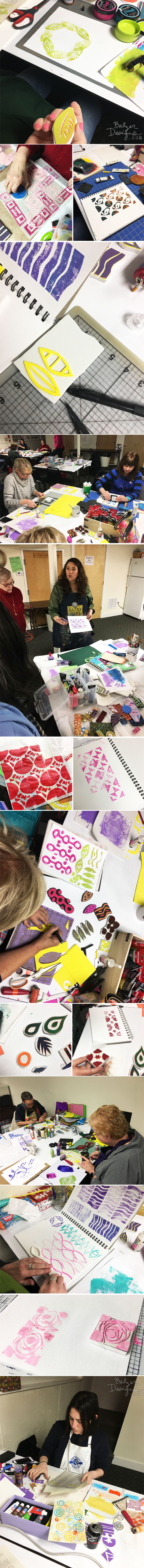 From the Balzer Designs Blog: Three Classes at Papercraft Clubhouse