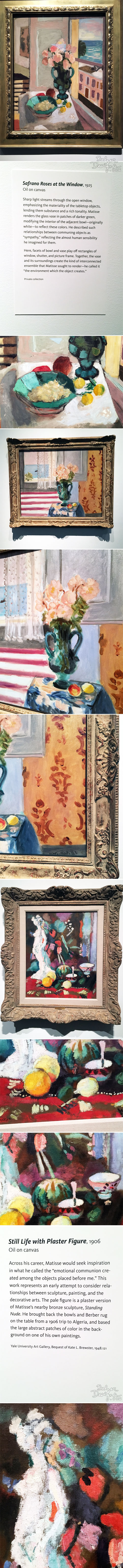 From the Balzer Designs Blog: Matisse in the Studio at the MFA