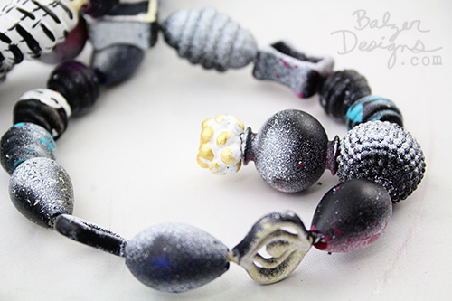 from the Balzer Designs Blog: B. Pop Arty Beads for Grownups