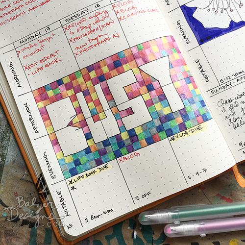 from the Balzer Designs Blog: #makeitartsytv