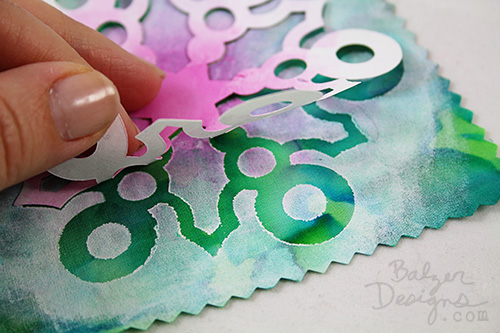 from the Balzer Designs Blog: #ScanNCut Freezer Paper Techniques