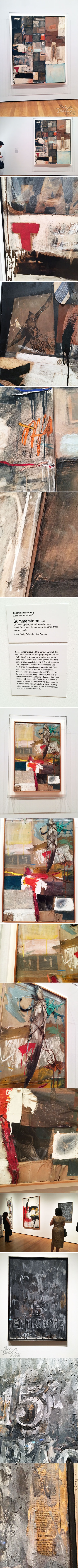 From the Balzer Designs Blog: Robert Rauschenberg: Among Friends at MoMA