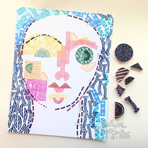 from the Balzer Designs Blog: #the100dayproject