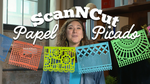 from the Balzer Designs Blog: #ScanNCut #PapelPicado Banner