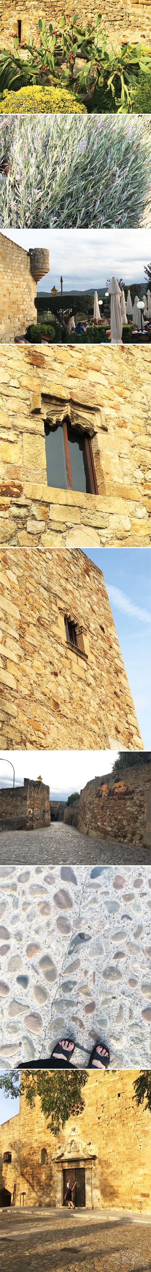 From the Balzer Designs Blog:Medieval Village: Peratallada