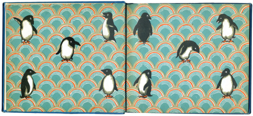 Johnny-penguin-endpapers